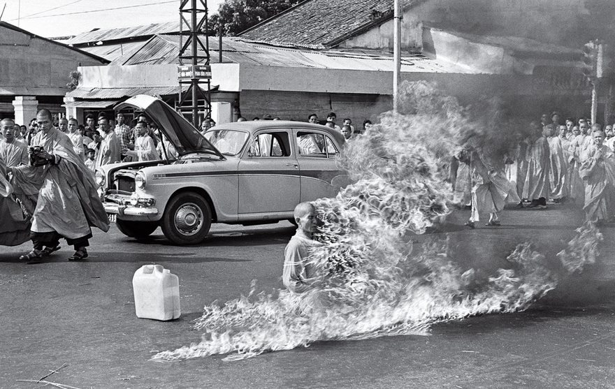El Burning Monk, Malcolm Browne, 1963