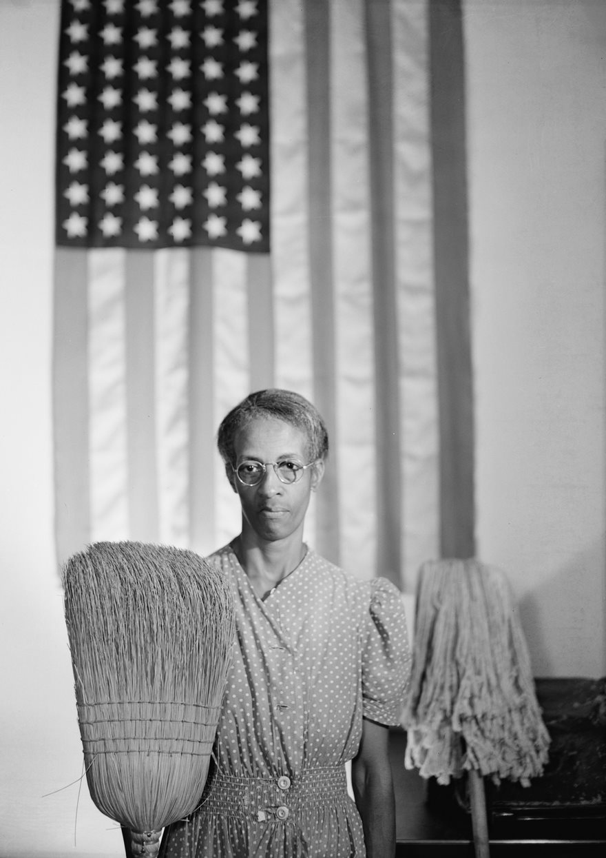 American Gothic, Gordon Parks, 1942