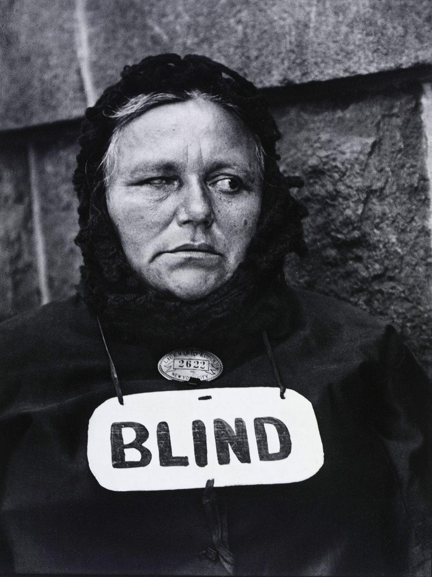 Blind, Paul Strand, 1916