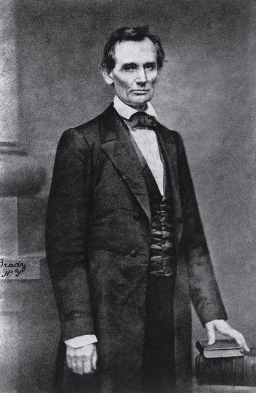 Abraham Lincoln, Mathew Brady, 1860