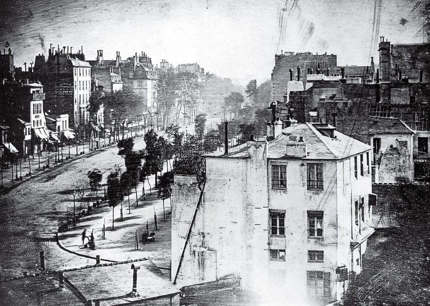 Boulevard Du Temple, Louis Daguerre, 1839
