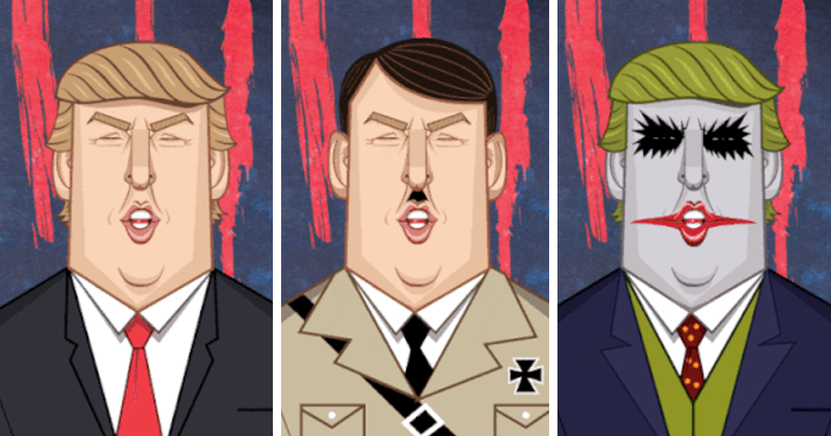 """""""Good Luck, America"""" By Graphicurry"""