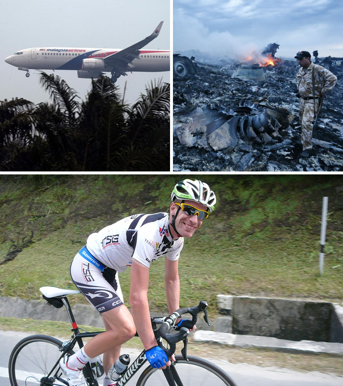 The Dutch Cyclist Who Escaped Two Plane Crashes
