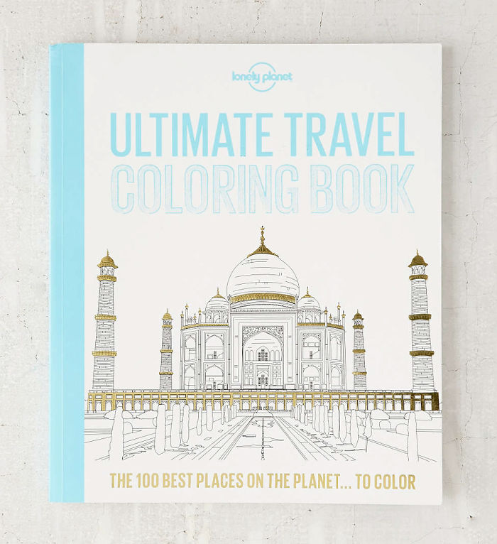 Ultimate Travel Coloring Book