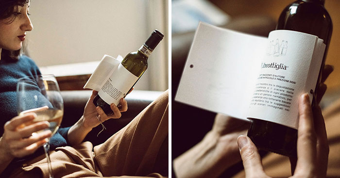 Genius Wine Bottles Have Labels With Short Stories To Read While You Sip