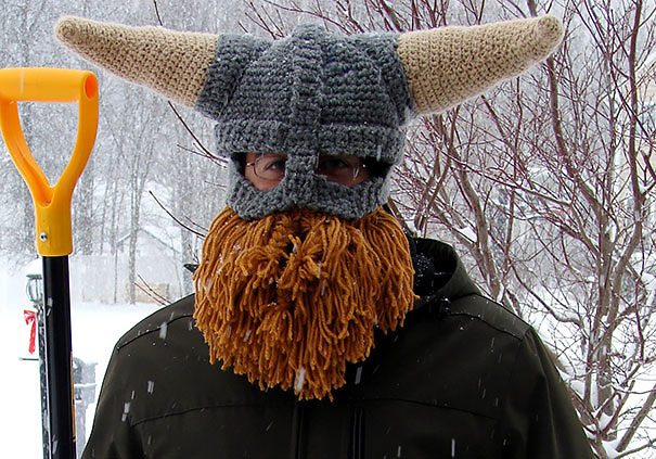 Viking Helmet And Beard Hat  a56d82ba398