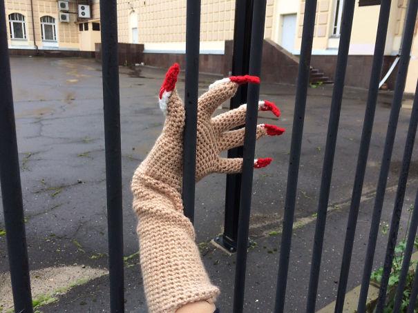 Long Fingers Gloves