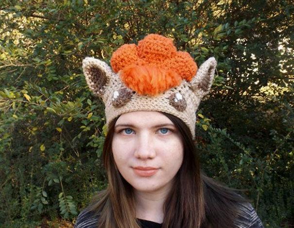 Vulpix Pokemon Hat