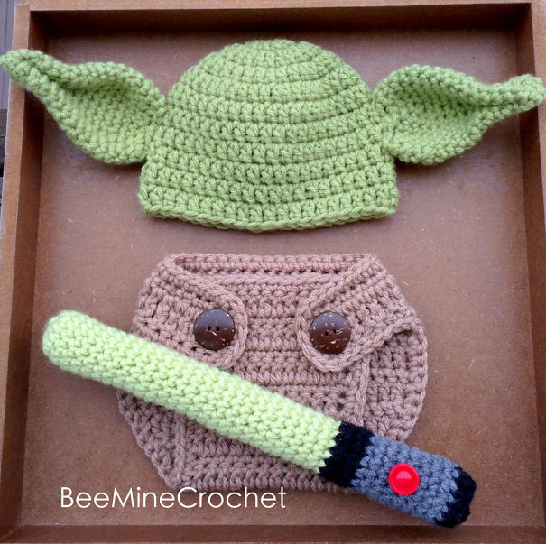 Yoda Baby Set