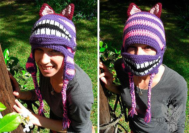Cheshire Cat Mask Hat
