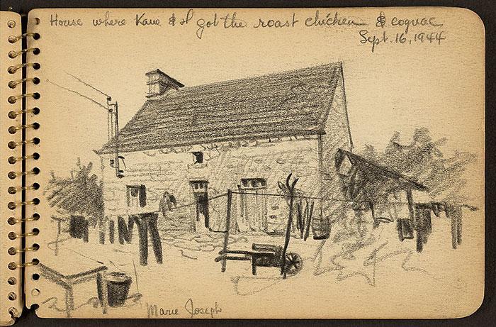 House Where Kane & I Got The Roast Chicken & Cognac