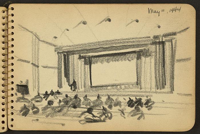 Auditorium At Fort Jackson, South Carolina