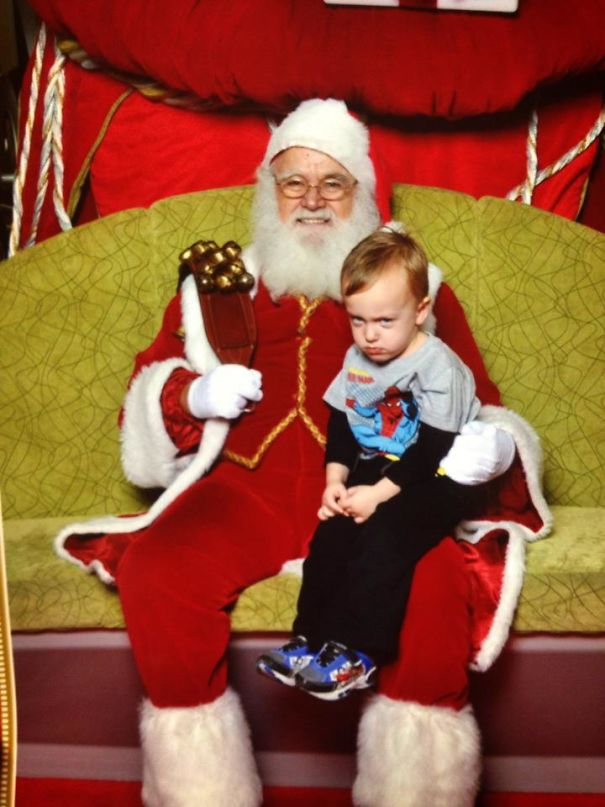 Santa Just Told Him The North Pole Is Out Of Spidermen
