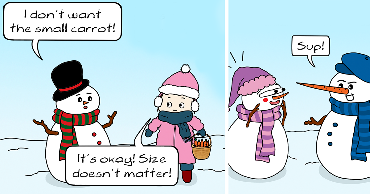 12 funny comics i created for you to read on your winter holidays