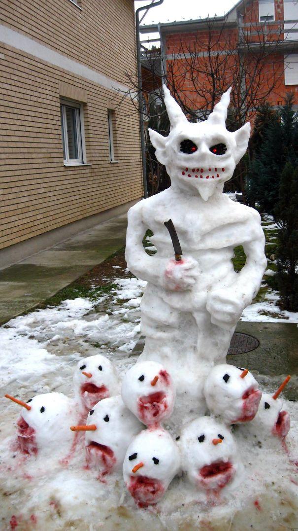 Serial Snowman