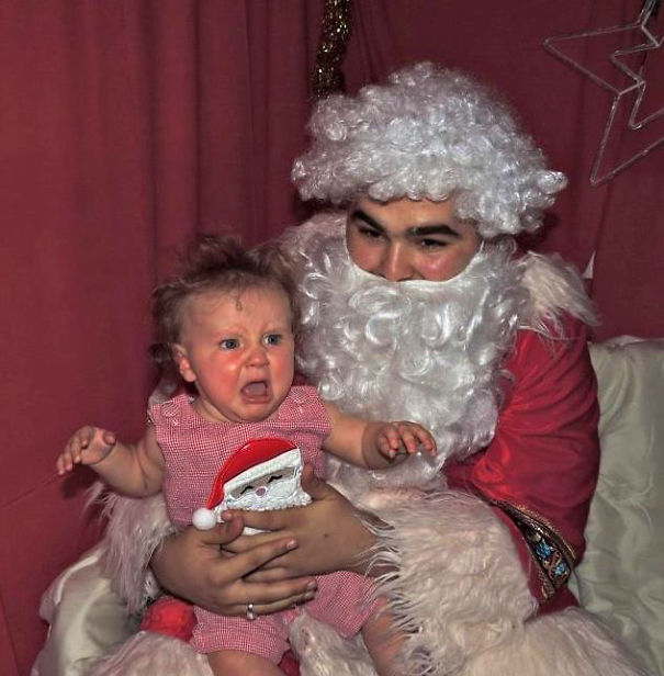 On The 10th Day Of X-mas, Creepy Santa Gave To Me... Terrifying Texture