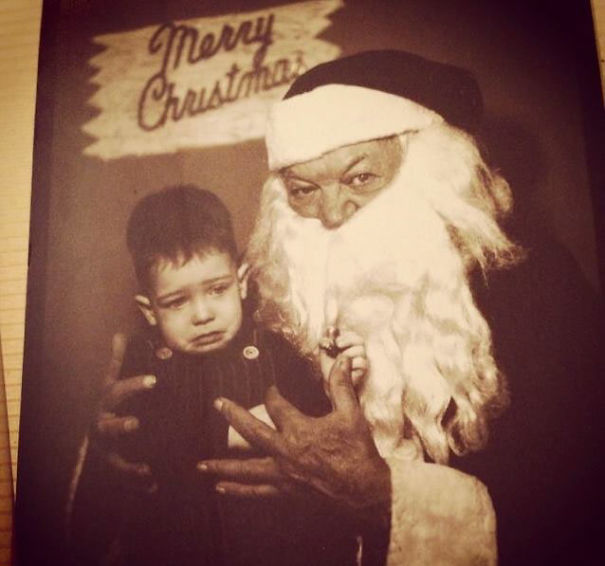 Looks Like Santa Just Got Released From The Penitentiary. Is Anyone Else Going To Have Nightmares Over Those Hands?