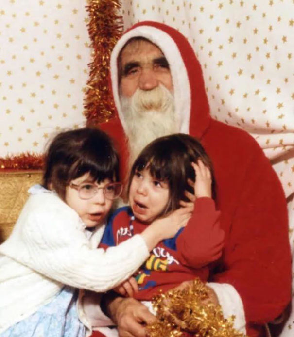 It's That Time Of Year Again.... Creepy Santa Is Prowling. Send Us A Photo If You Happen To Catch Him In The Act!