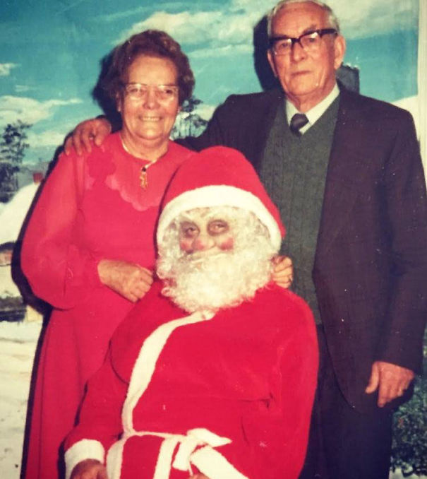 You're Never Too Old To Sit On Santa's Lap... But You'd Never Be More Wise Than To Pass On This One's...