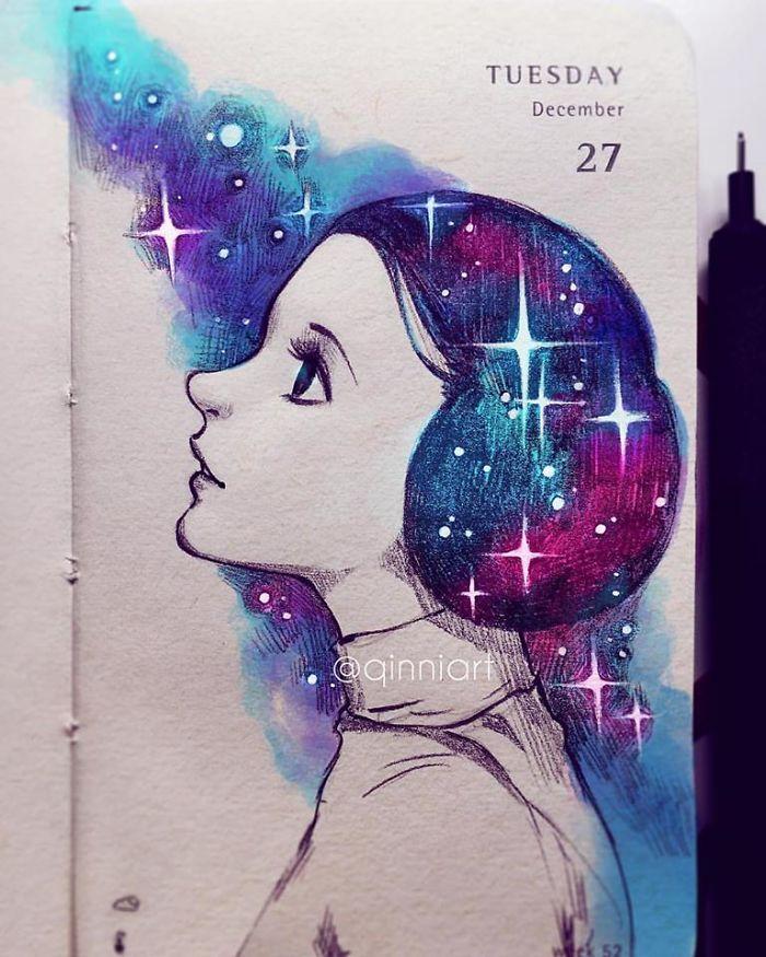 Amazing Artwork By Qinni