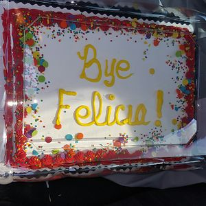 Farewell Cake For A Coworker Who Was Moving Out Of State.