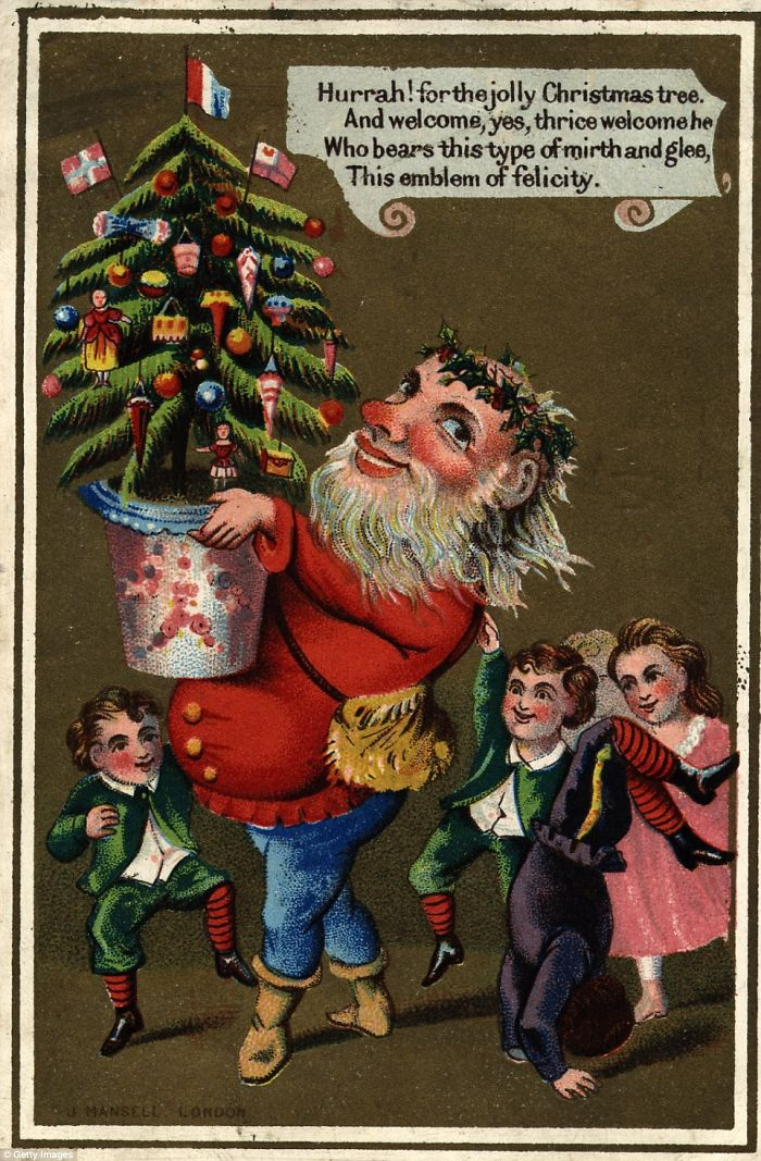Hurrah! For The Jolly Christmas Tree