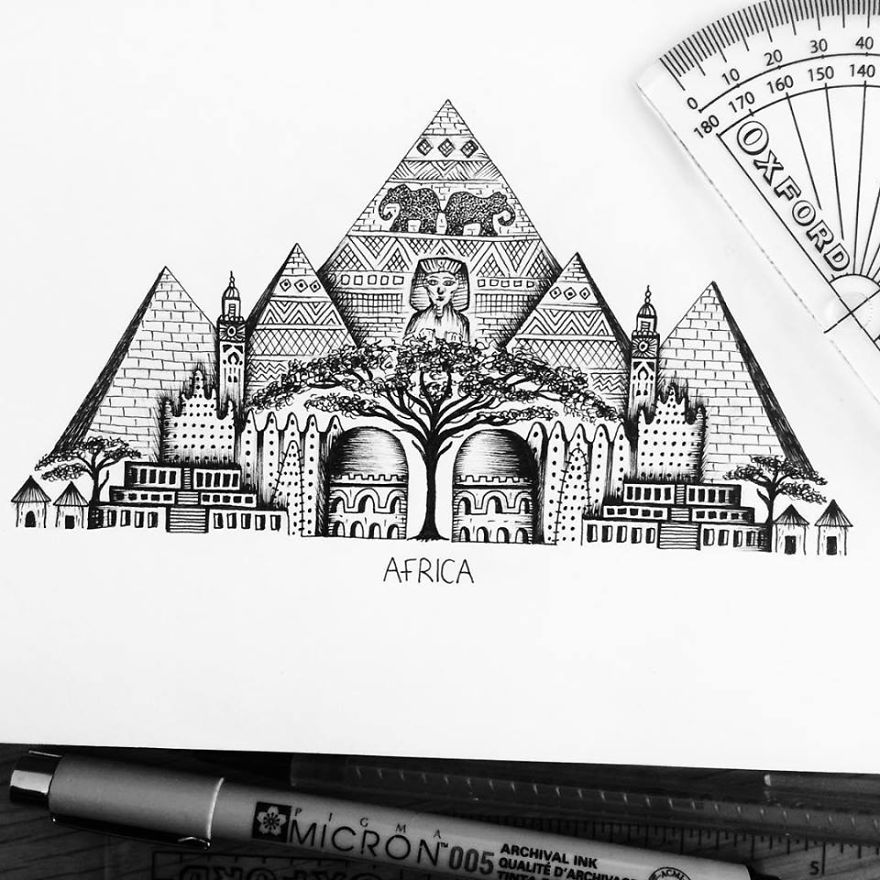 I Am Obsessed With Drawing Super Detailed Art (part 2)