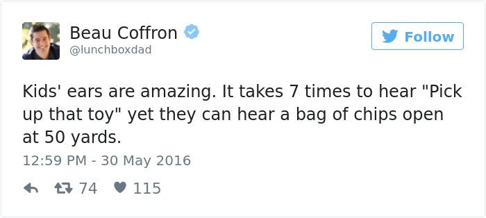 Funniest Parenting Tweets 2016