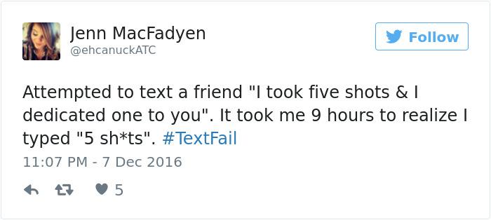 Textfail