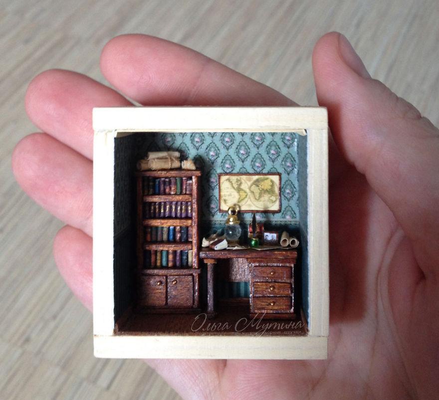 A Miniature World Of Olga Mutina: Feel Like A True Gulliver