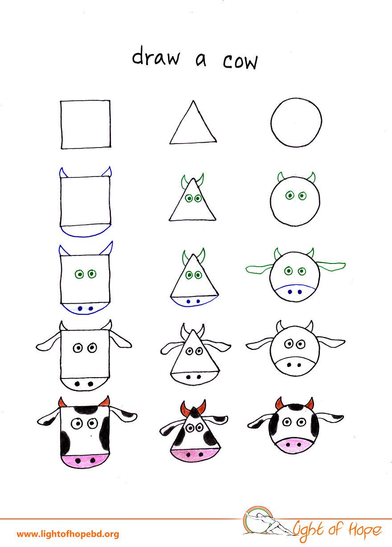 Draw A Cow