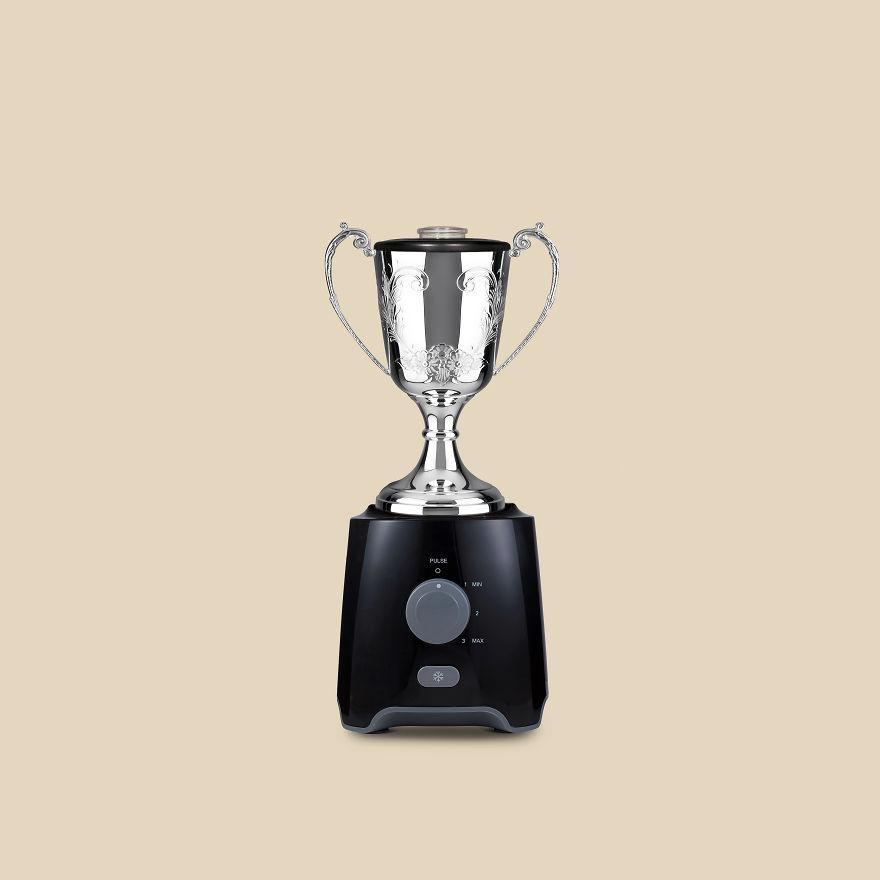 Blender + Trophy