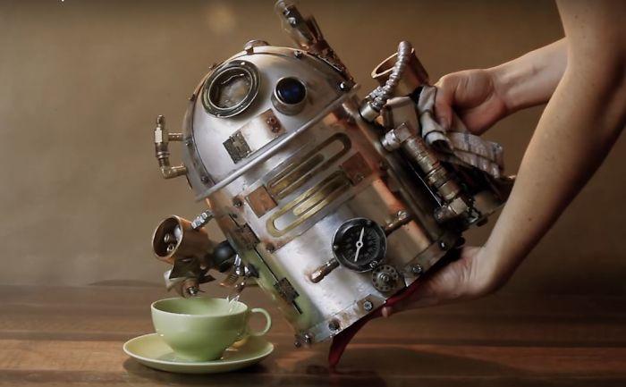 I Made A R2d2 Steampunk Teapot