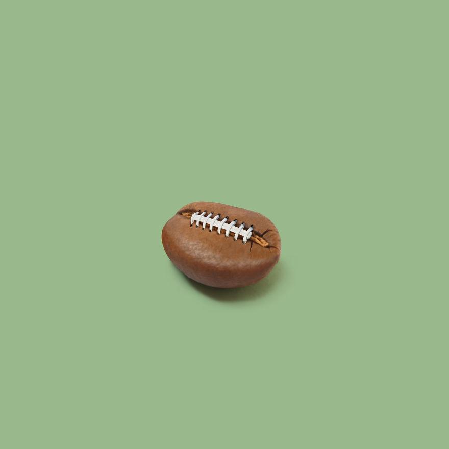 Coffee Bean + American Football