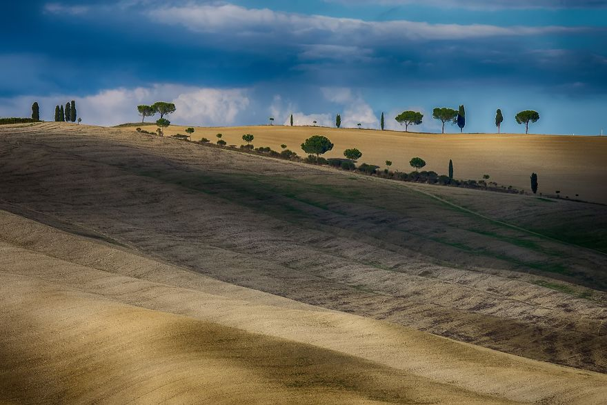 I Had 3 Days To Capture The Magnificent Landscapes Of Tuscany.