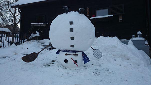 Snowman Dinamo Croatia