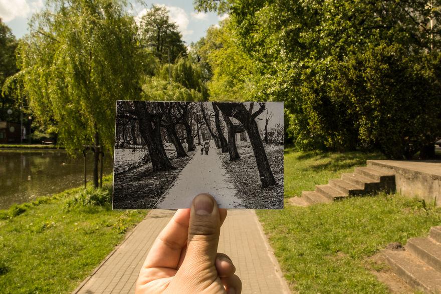 Park Potuliccy, 70-ties XX Century