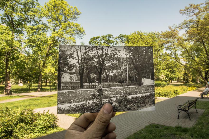 Kosciuszko Park, 70-ties XX Century