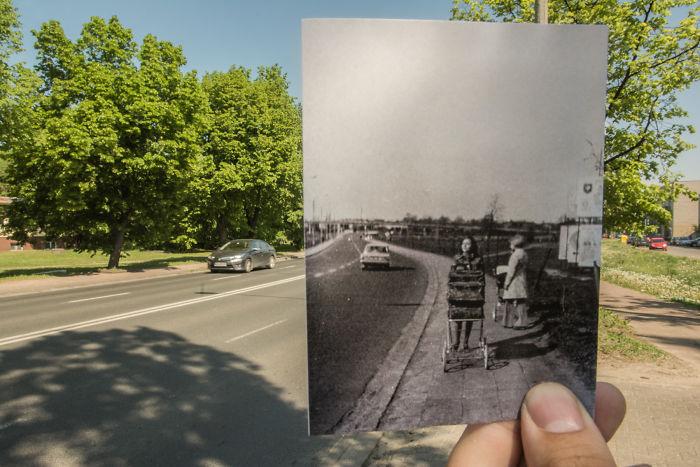 Street Wojska Polskiego, 70-ties XX Century