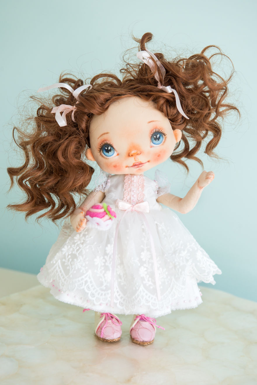 I Create Unique Hand-made Art Dolls