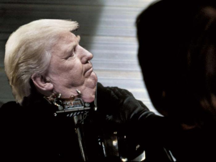 Donald Vader Meets His Master.