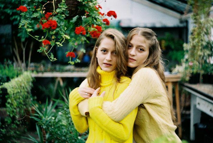 """yellow Twins"" – Photo Session By Georgian Talented Photographer Mariam Berodze."