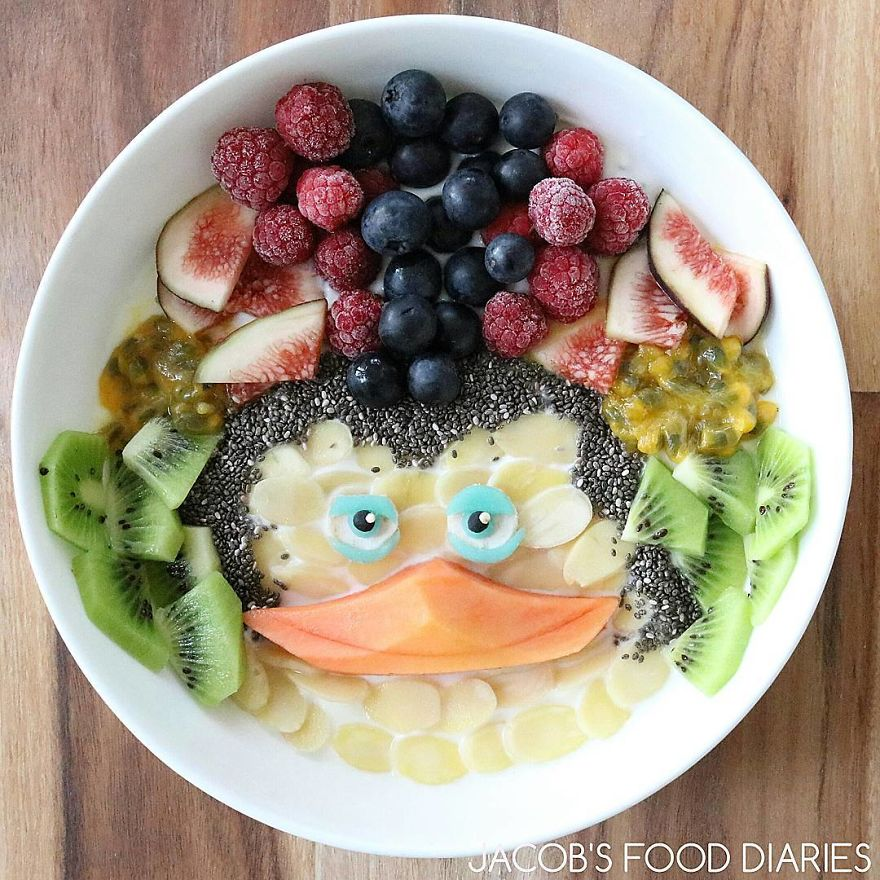 To Make My Son Eat Healthy Food I Turn It Into His Favorite