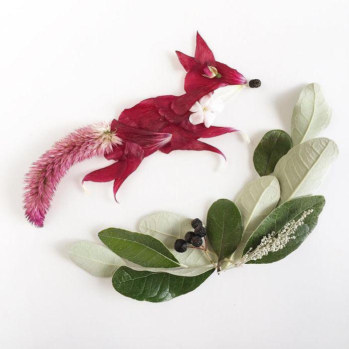 @floraforager Turns Nature Into Art