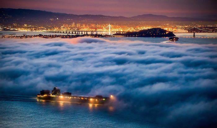 Fog Waves Of Mt.tamalpais