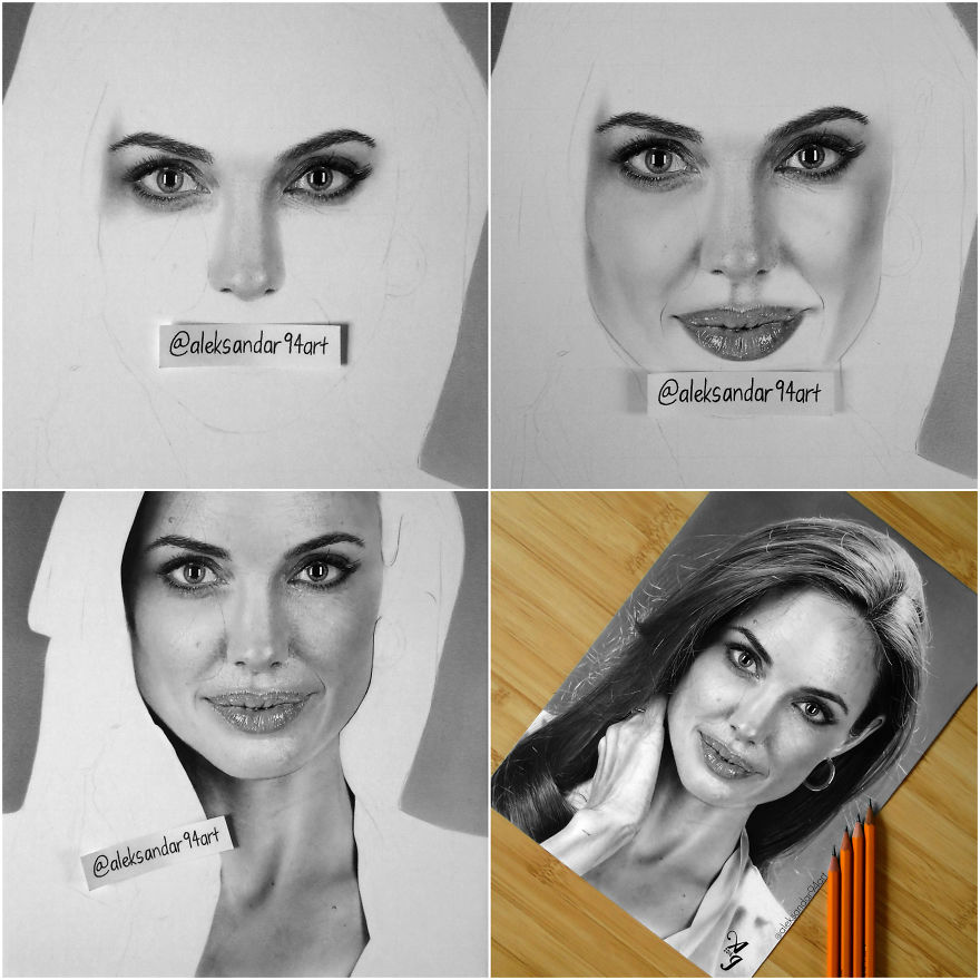 how to draw realistic celebrities