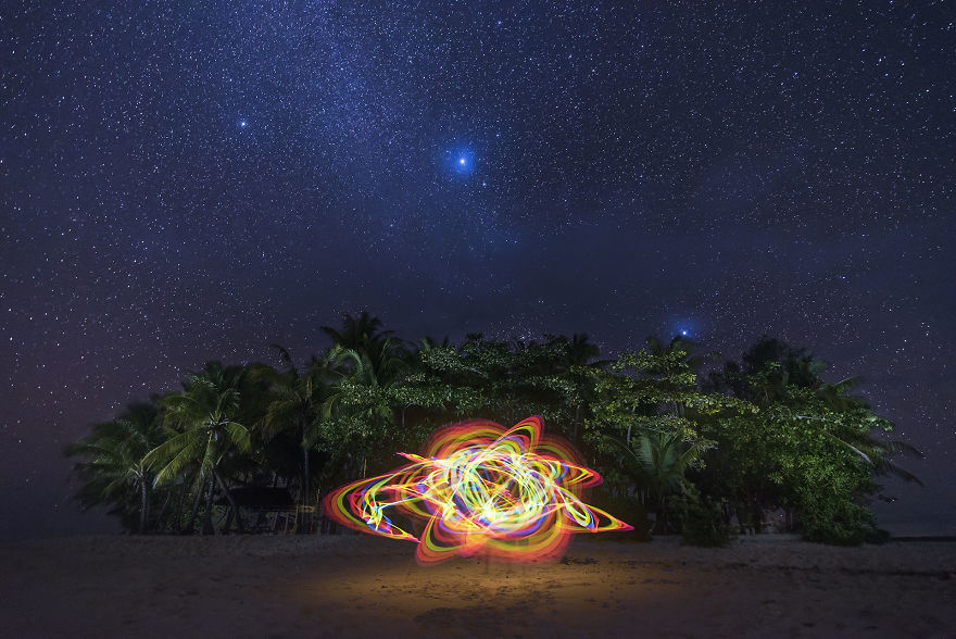 Light Painting By Magnus