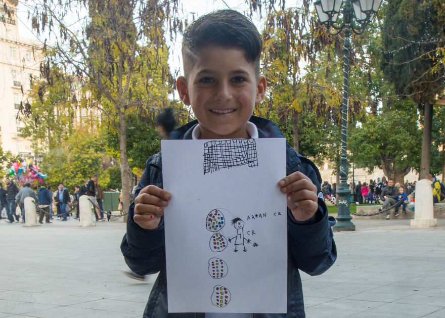 I Asked Refugee Children To Draw What They Wanted To Be When They Grew Up Bored Panda