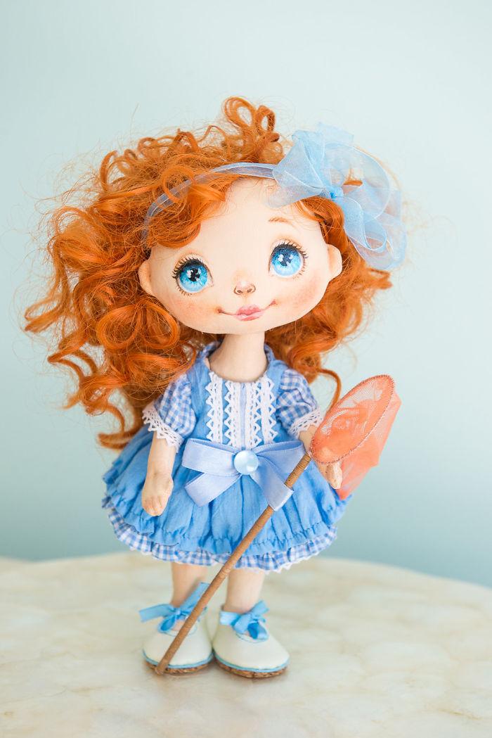I Create Unique Hand-made Art Dolls
