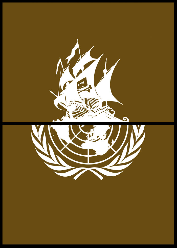 Pirate Bay + United Nations